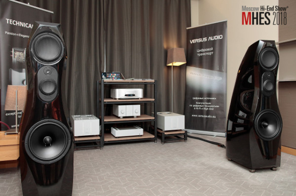 Audio Video Designs на Moscow Hi-End Show 2018