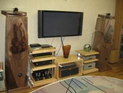 ALEKS:  акустические системы и аудио техника aleks в интерьере