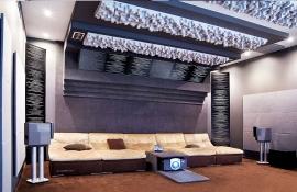 Alef Eleсtro: домашний кинотеатр на компонентах Chord, Runco, Transrotor, спутниковое HD оборудование.