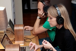 Экспозиция портативного аудио на MHES 2019